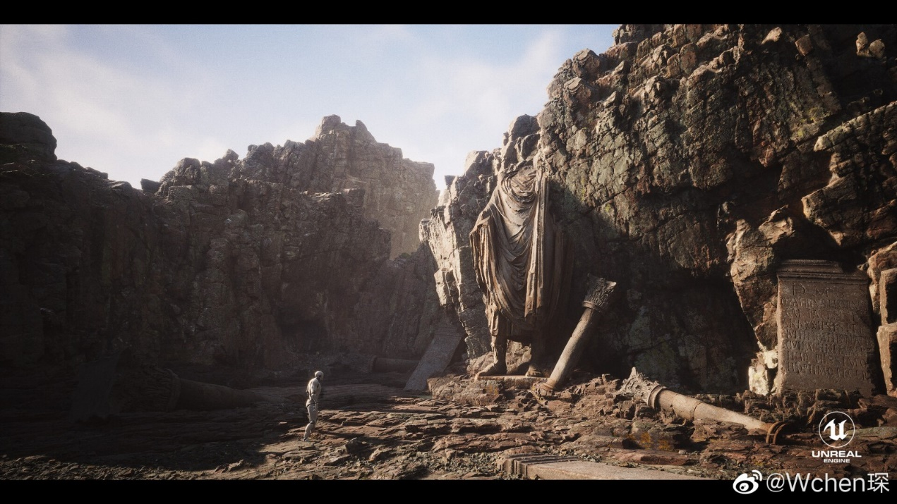 《黑神话:悟空》虚幻5引擎打造场景图公开