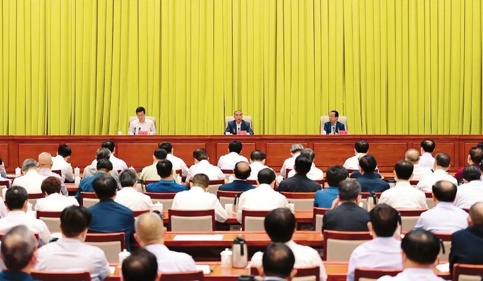 山西省召开全省领导干部会议 宣布中央关于省委主要负责同志调整的决定