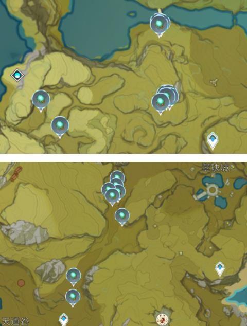 原神发光髓在哪刷新?原神萤火虫位置分布图采集图推荐