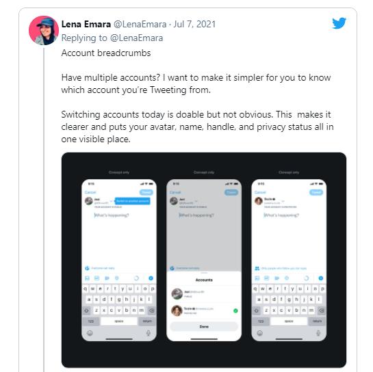 Twitter从搜索中隐藏用户账户的方法