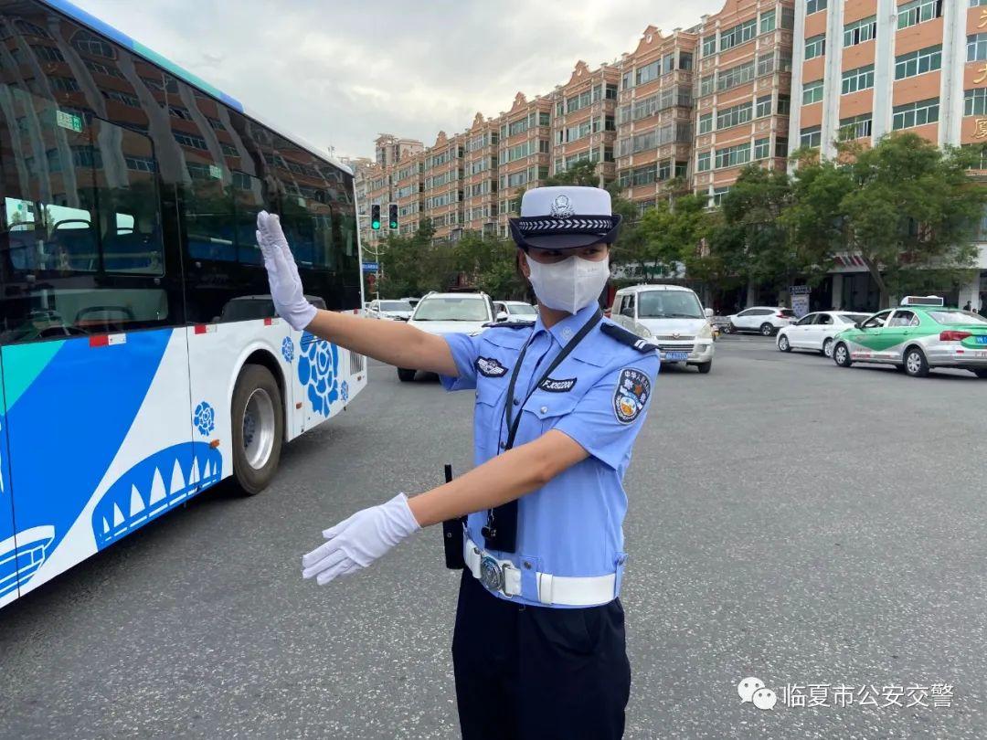 临夏市公安交警开启夏季整治最强攻势