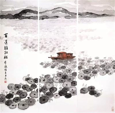 上海市闵行区佛教协会举办庆祝建党百年书画艺术展