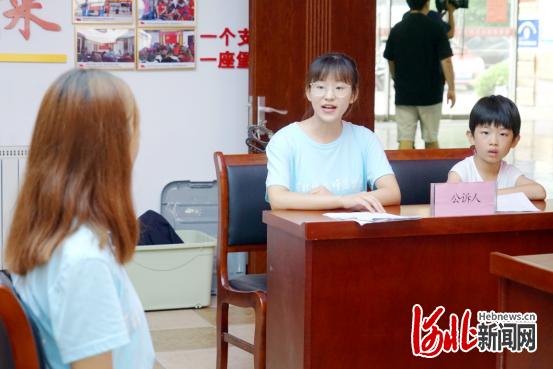 秦皇岛开发区:模拟法庭让青少年零距离学法