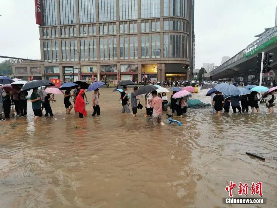 """河南又成暴雨中心?专家详解与""""7·20""""异同"""