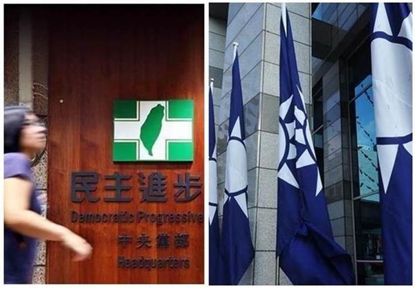 島內最新政黨民調出爐:中國國民黨支持度回升民進黨、民眾黨下降