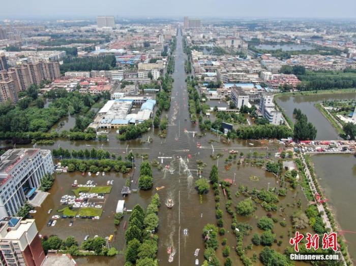 河南强降雨已致71人遇难 新乡直接经济损失72.95亿元