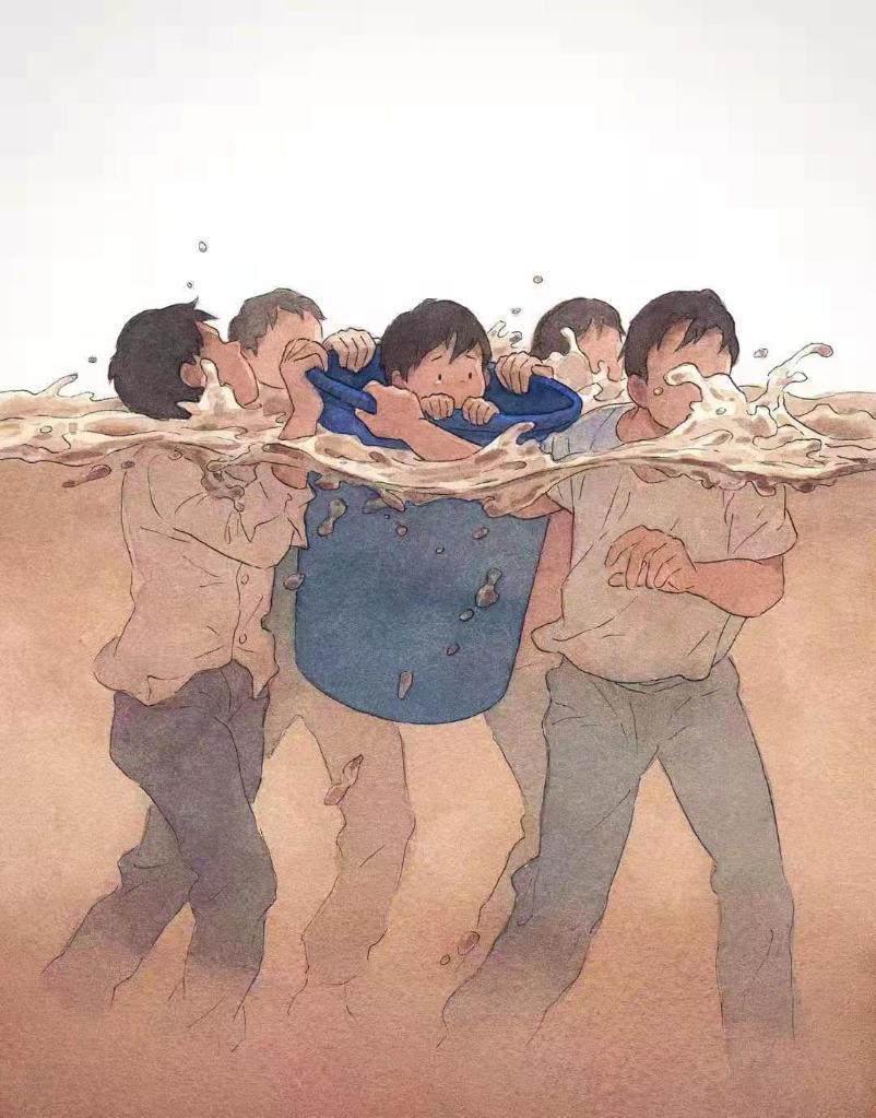 """郑州暴雨中,22只手托起""""诺亚方舟"""""""