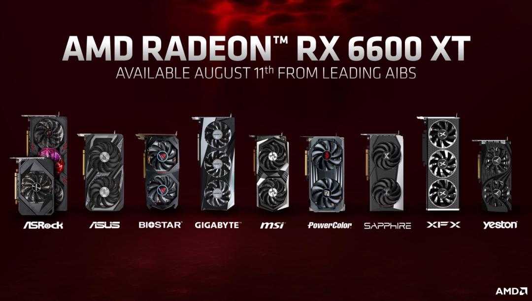 硬件丨2999起!AMD RX 6600 XT显卡发布,比RTX 3060强15%