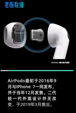 AirPods3或与iPhone13同时亮相,外观酷似AirPods Pro