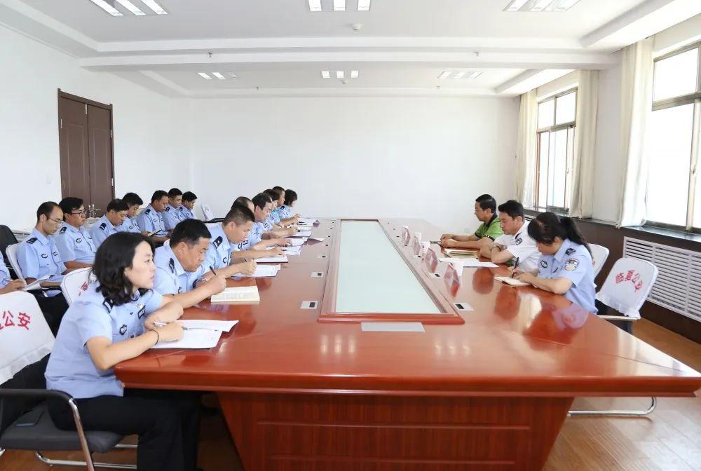 临夏州公安局第十三党支部召开党史学习教育专题组织生活会