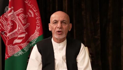 阿富汗总统加尼在阿联酋发表视频讲话 否认携巨款逃离等流言