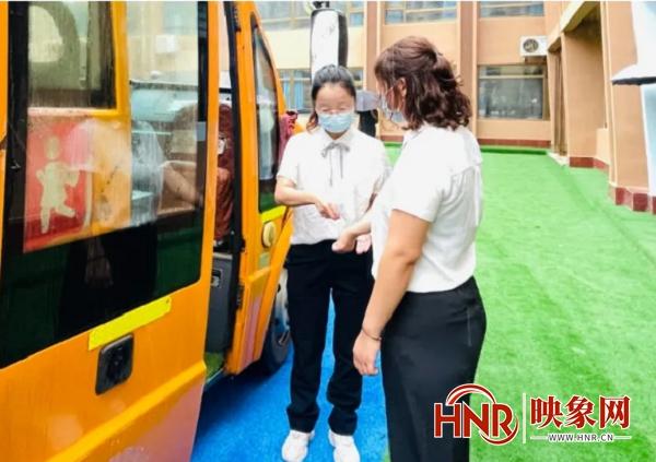 信阳哈敦国际学校:疫情防控不松懈 积极演练备开学