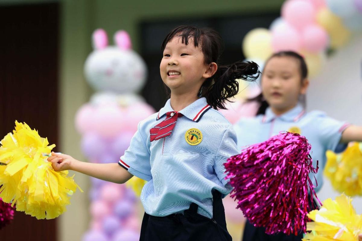 合肥瑶海:小学办趣味运动会迎接一年级萌娃