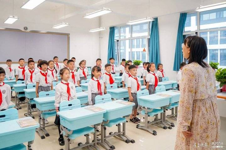 济宁第一中学附属中学、附属小学启用,新校区开启新学期