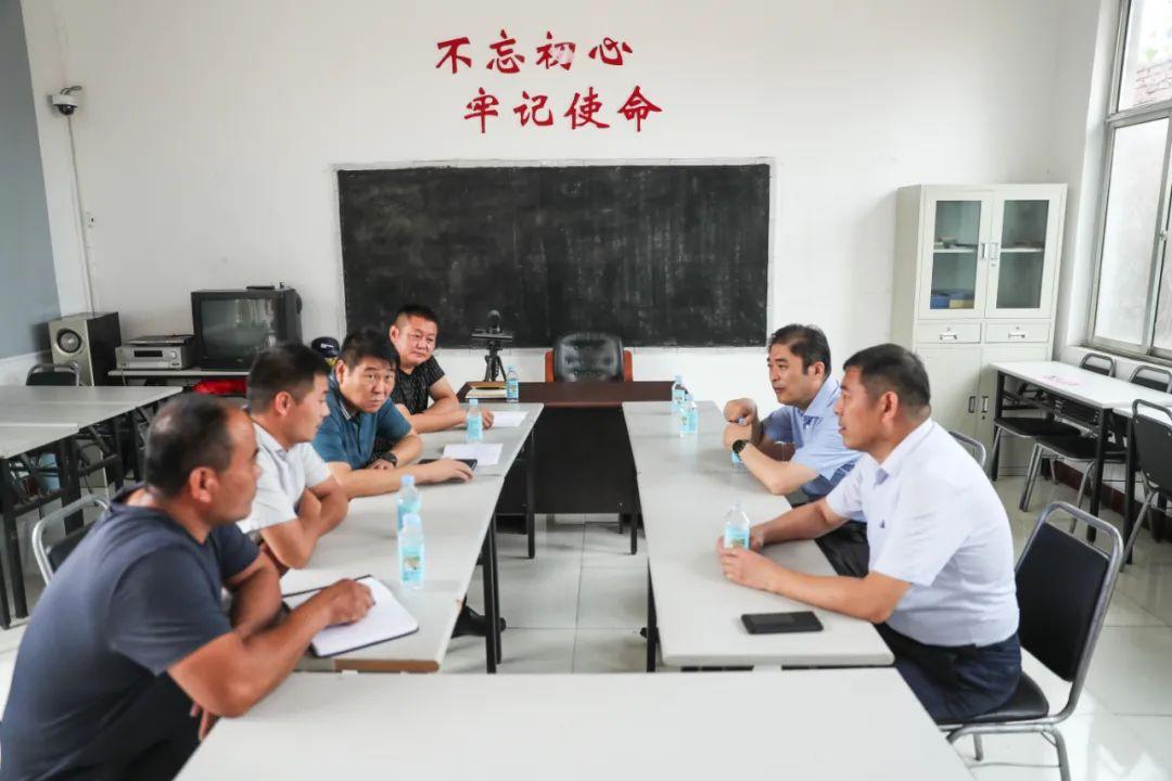 濟南新材料產業園區管委會主任韓利師調研軟弱渙散黨組織整頓工作