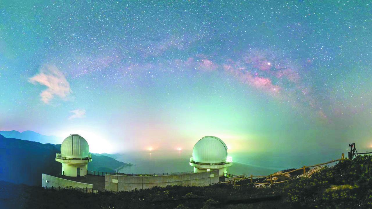 看星辰大海!深圳将设暗夜保护区 建星空公园