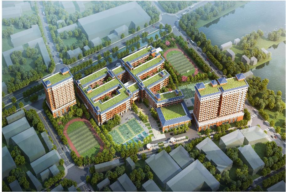 明年9月启用!东莞常平新城学校奠基动工,将增超四千个学位