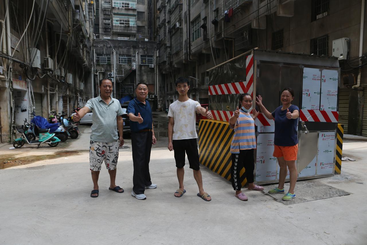 进贤城管局为3个小区居民解内涝之烦忧