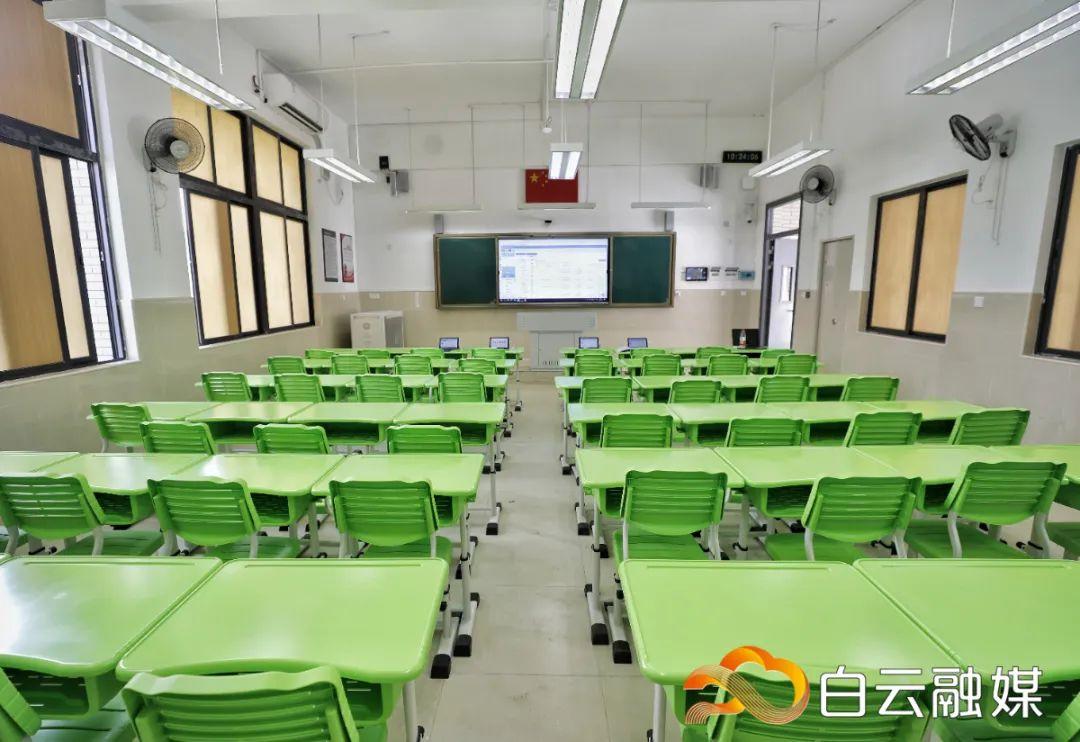 定了!培英中学白云新城校区拟于10月投入使用