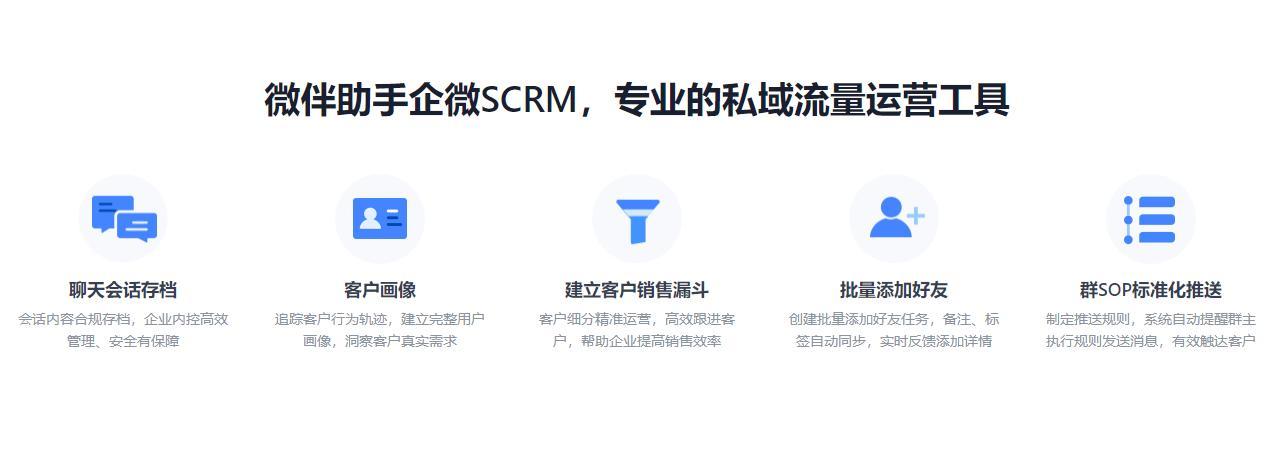 私域运营神器:5款免费又实用的企业微信SCRM不容错过