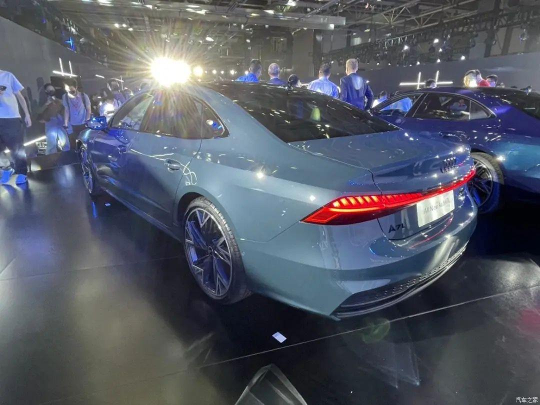 上汽奥迪A7L公布预售价,比进口车贵了2万元