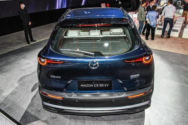首款纯电动车,长马CX-30 EV售15.98万元起