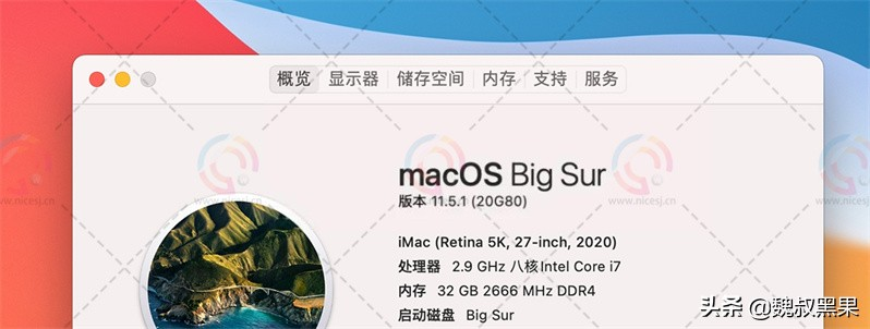 macOS Big Sur 11.5.1 (20G80) 虚拟机 ISO 镜像