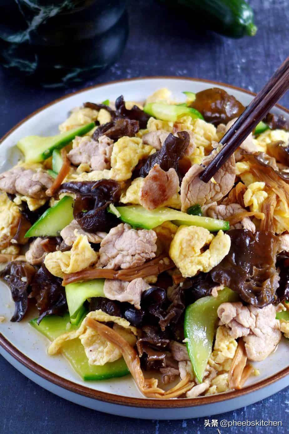 山东传统菜木须肉,营养丰富,很适合老人和孩子,家常做法 美食做法 第7张