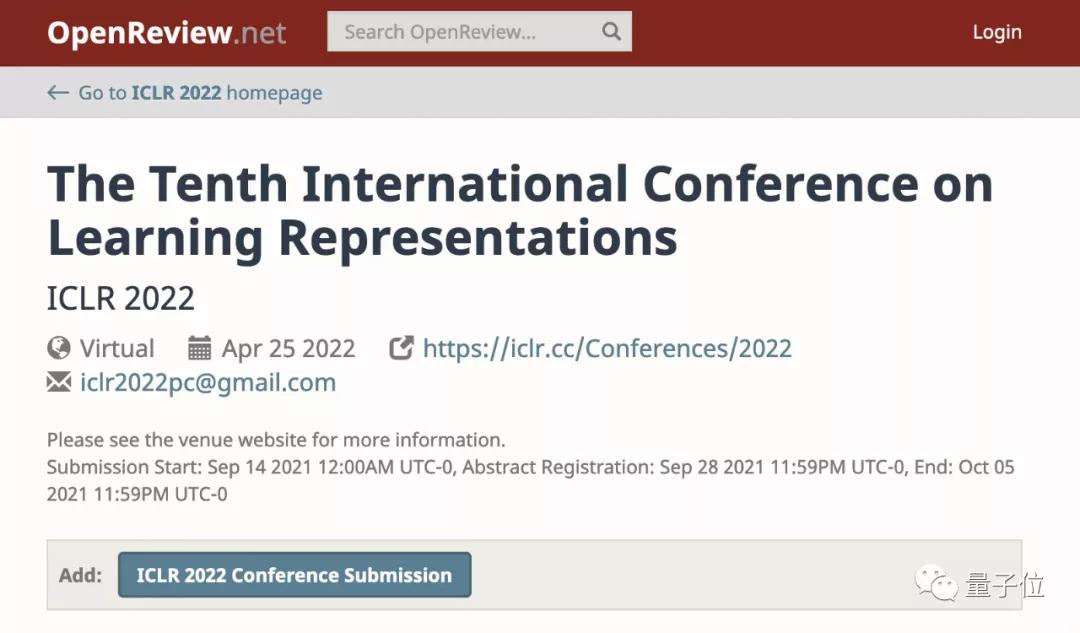 博客文章也能中顶会:ICLR 2022开设博客投稿通道
