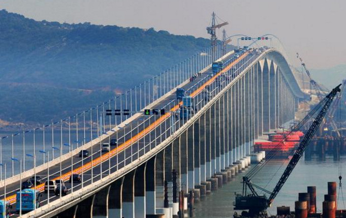 世界之最--平潭公铁两用跨海大桥的高效施工经验