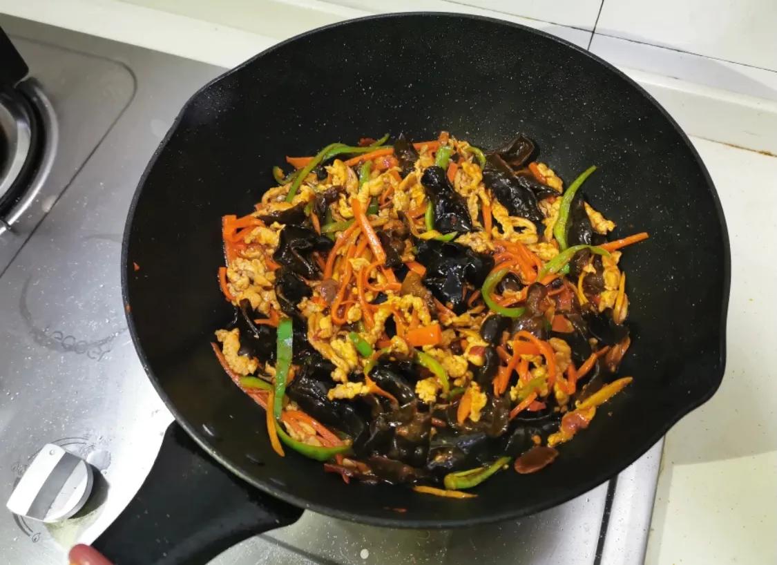 超下饭的鱼香肉丝 美食做法 第7张