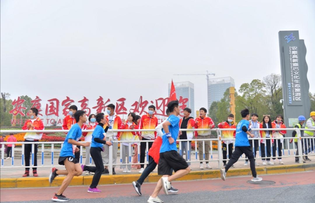 安康半程马拉松赛举行 6000余人共享运动活力