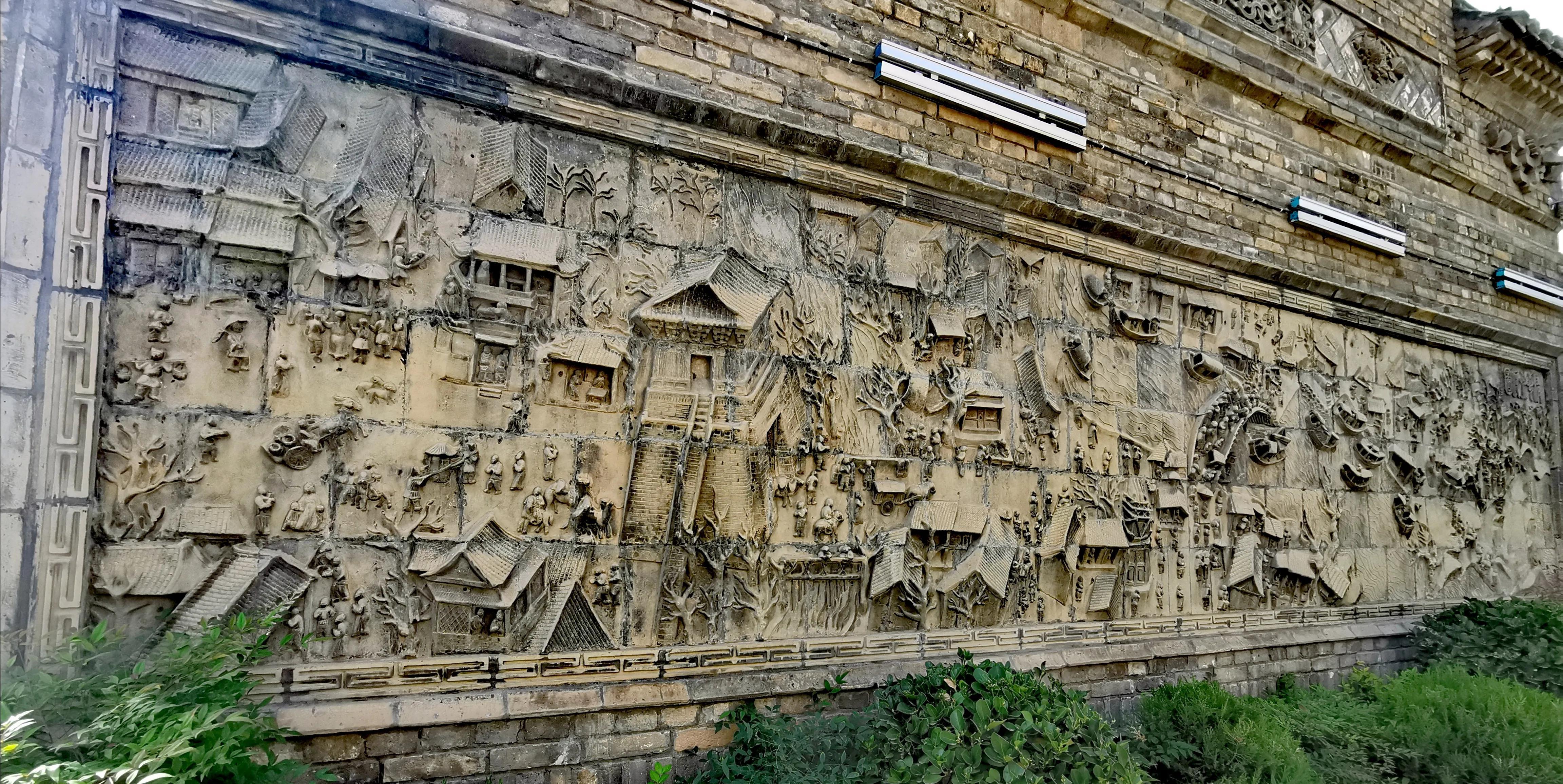 陕西蒲城重泉古城之精美砖雕欣赏