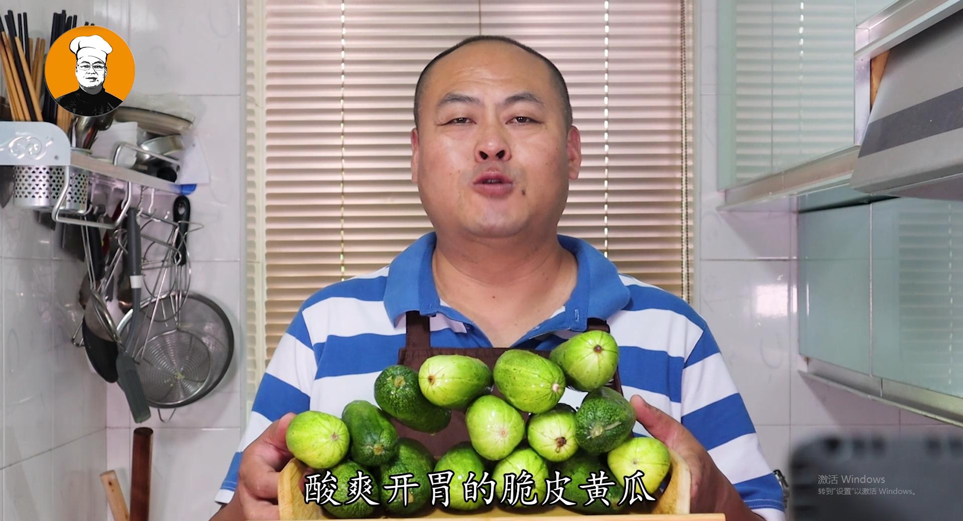 [怎样腌制黄瓜咸菜]20年腌黄瓜老方法,只需简单三步,酸爽又开胃,5斤不够吃