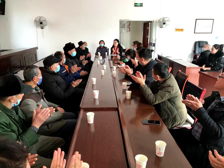女学文化研究会2021年新春慰问退役军人爱心活动圆满举行