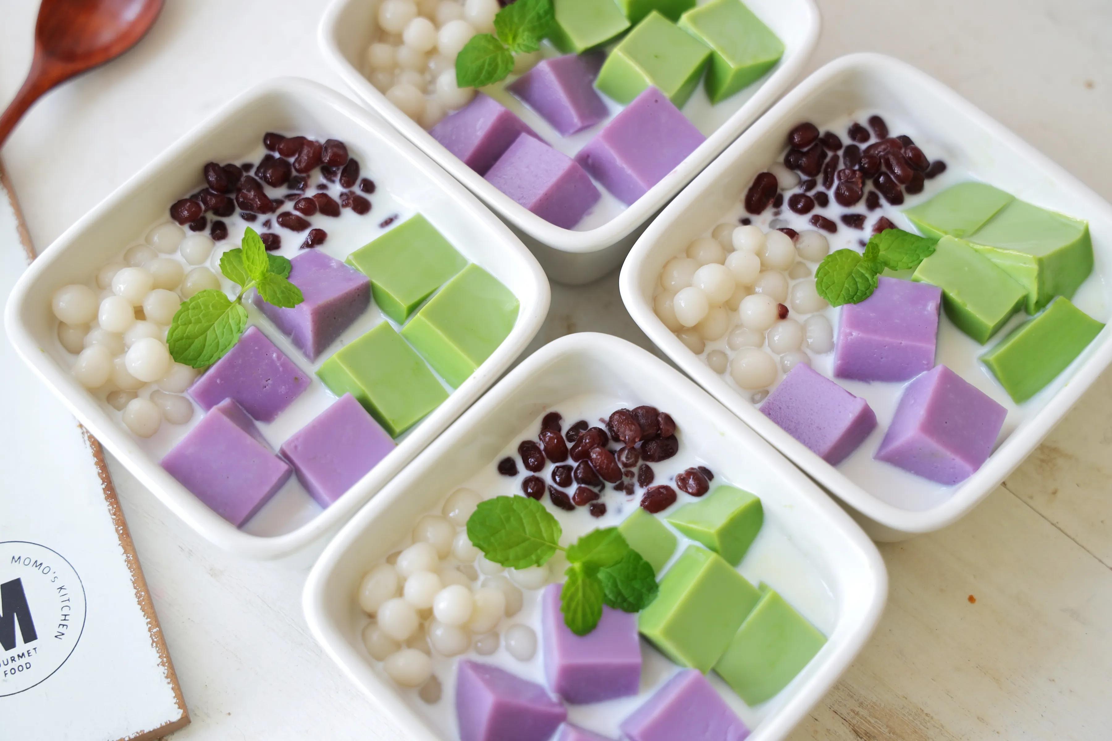 夏天必吃的甜品,外面一份要20多,教你在家做,简单易做,超治愈