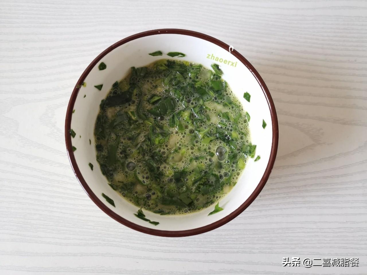 减脂早餐167:杂粮、水果、鸡蛋、肉、蔬菜都有了,360大卡 减肥菜谱做法 第3张