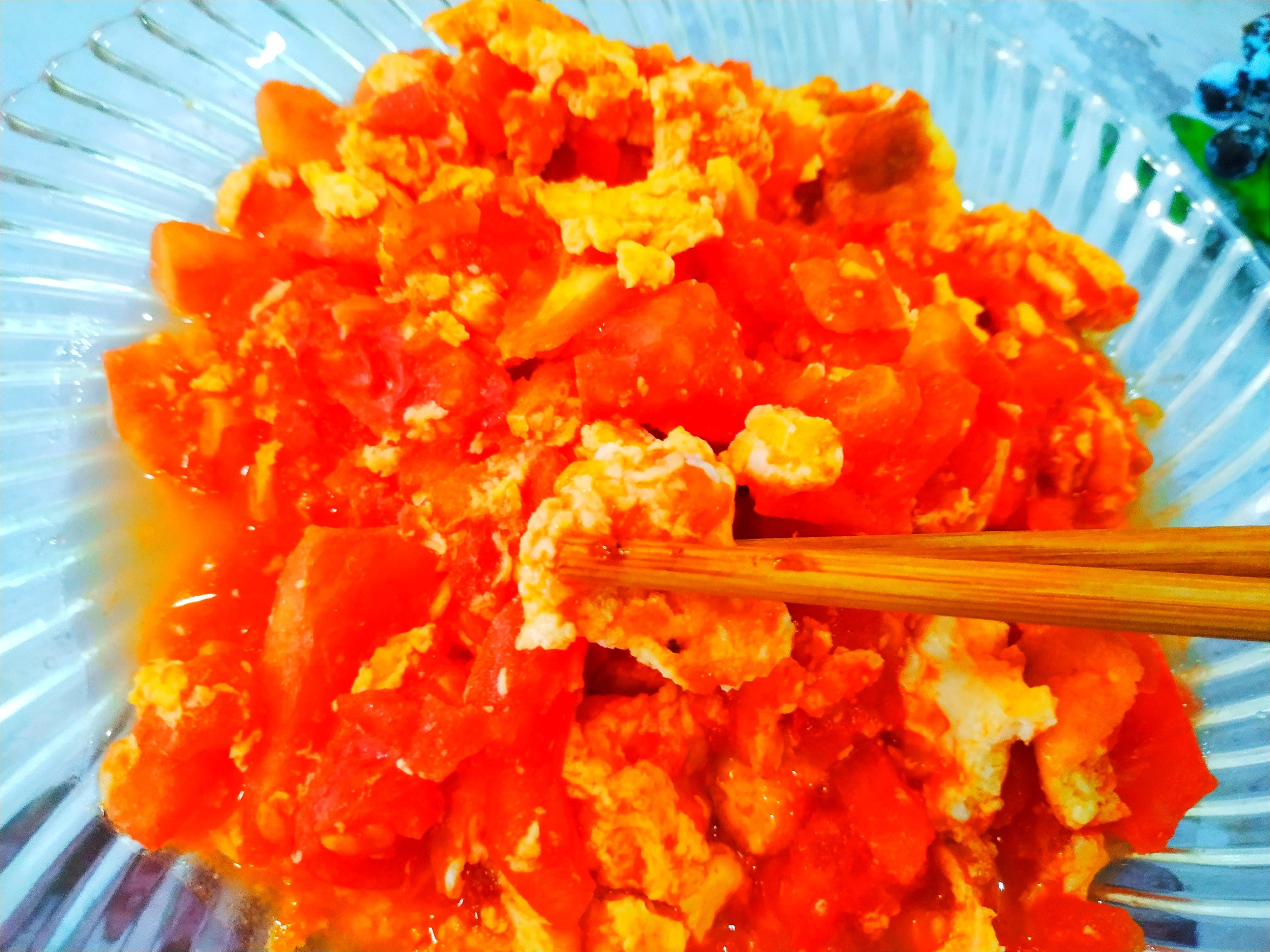 西红柿炒鸡蛋 酸甜翻倍 孩子爱吃