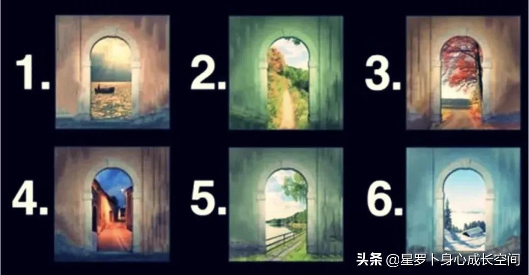 「心理测试」选择一扇门,揭示你的思路之路