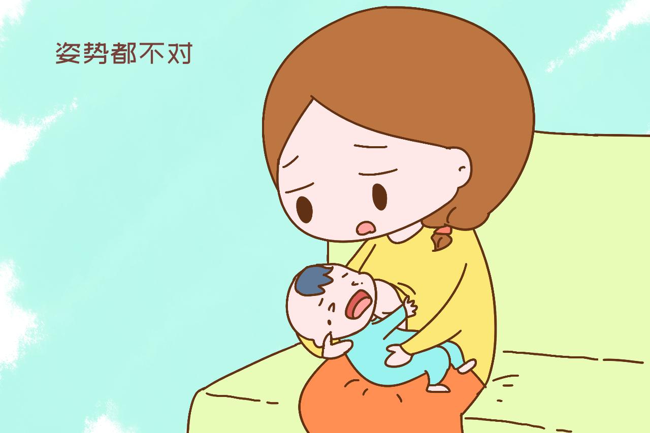 """宝宝喝奶时""""扭来扭去""""?其实在传递以下信号,宝妈别傻傻不知"""