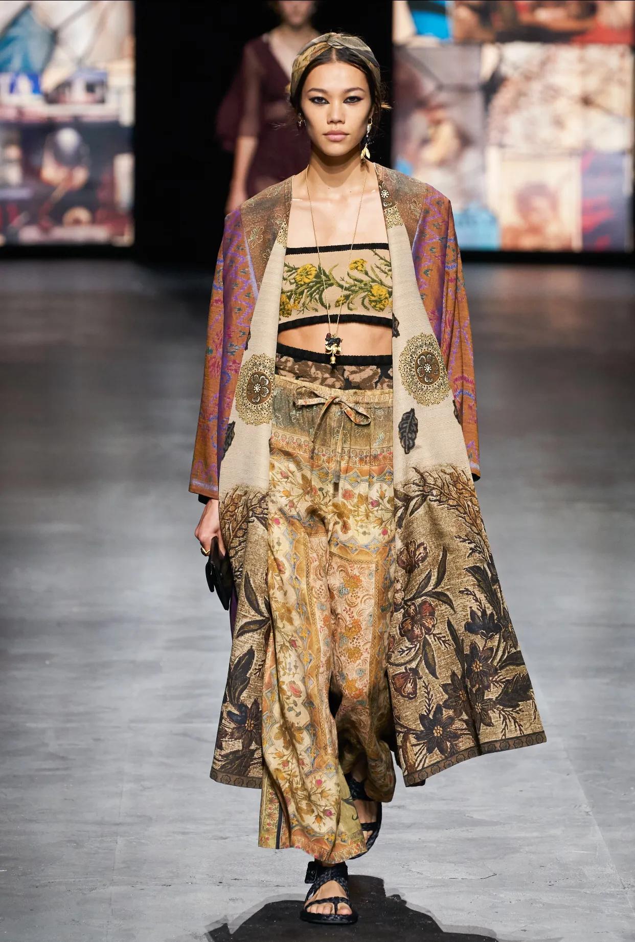 Christian Dior春季系列2021,别样的民族风情