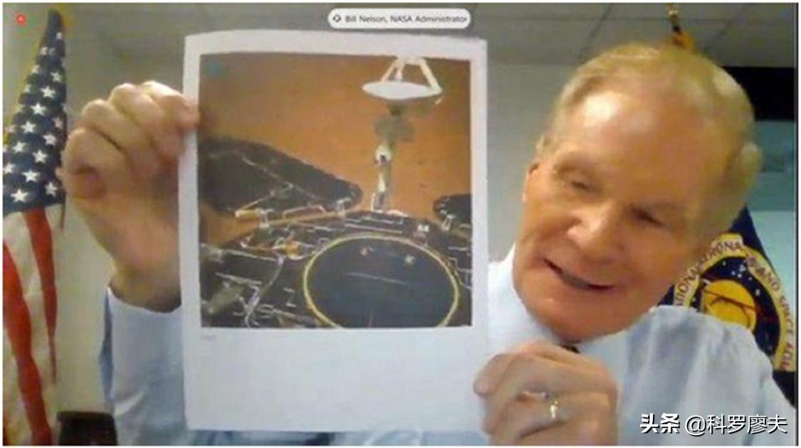 """NASA再贺""""祝融""""落火,美网友:我们到底被偷了多少技术?"""
