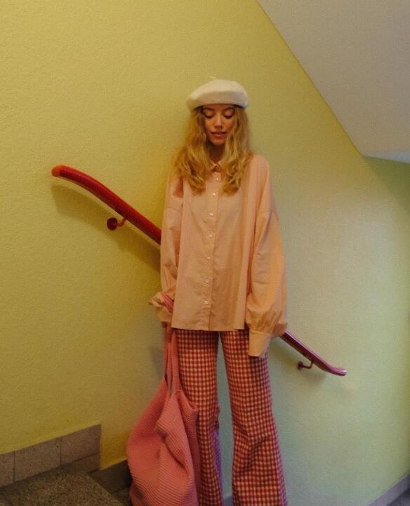复古风时尚博主Nanda Weskott 善于色彩搭配的小姐姐