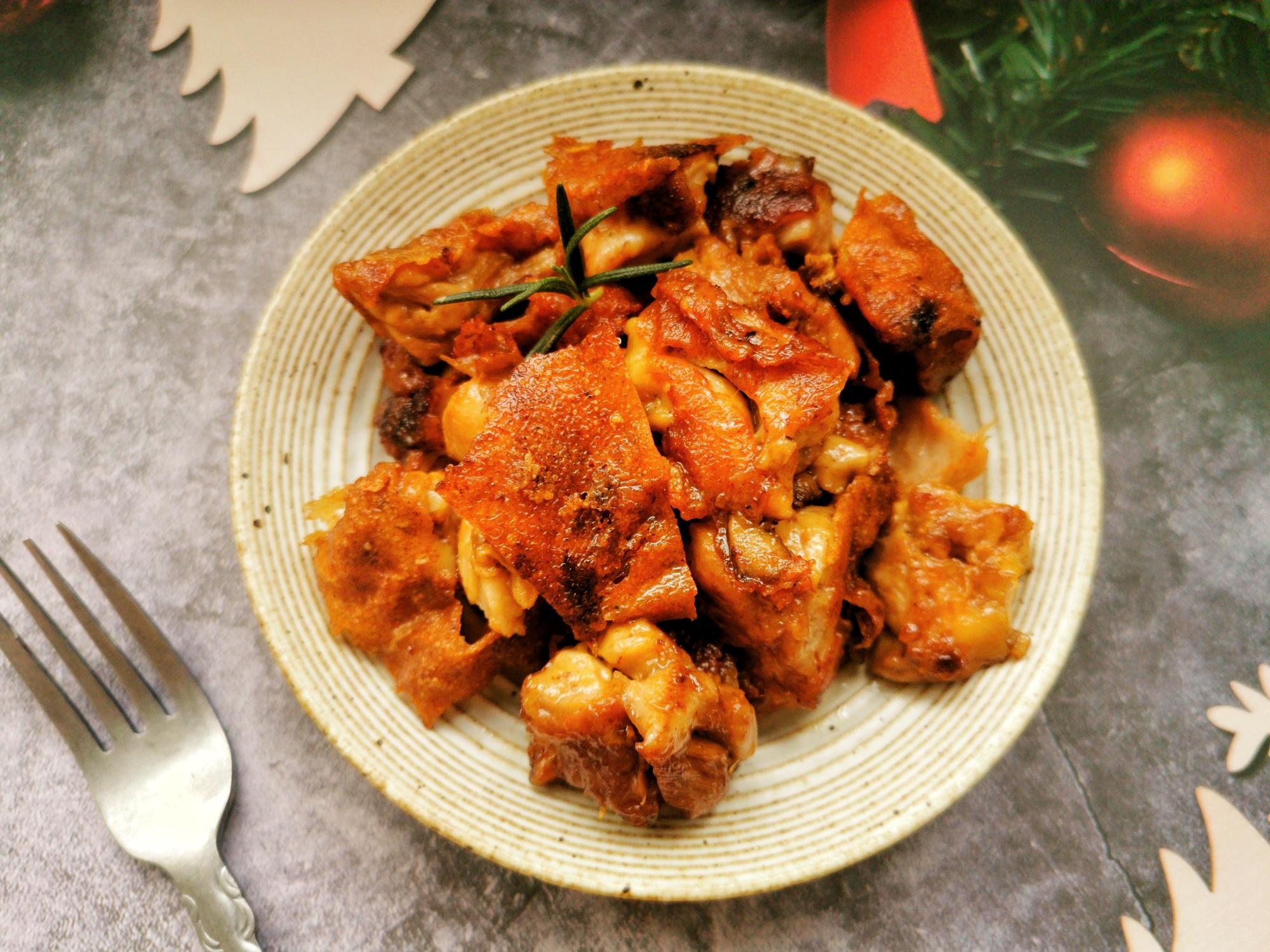 網紅芝士脆皮雞,一口平底鍋就搞定,鹹香酥脆,學會不用點外賣了
