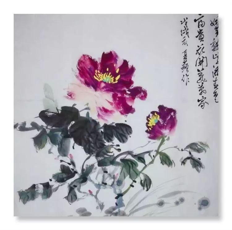 艺术家夏萍作品,评论家李晚君点评
