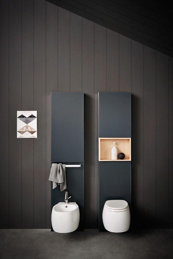 别再跟风做假墙了,预留个12cm做成这样,实用美观又能节约空间