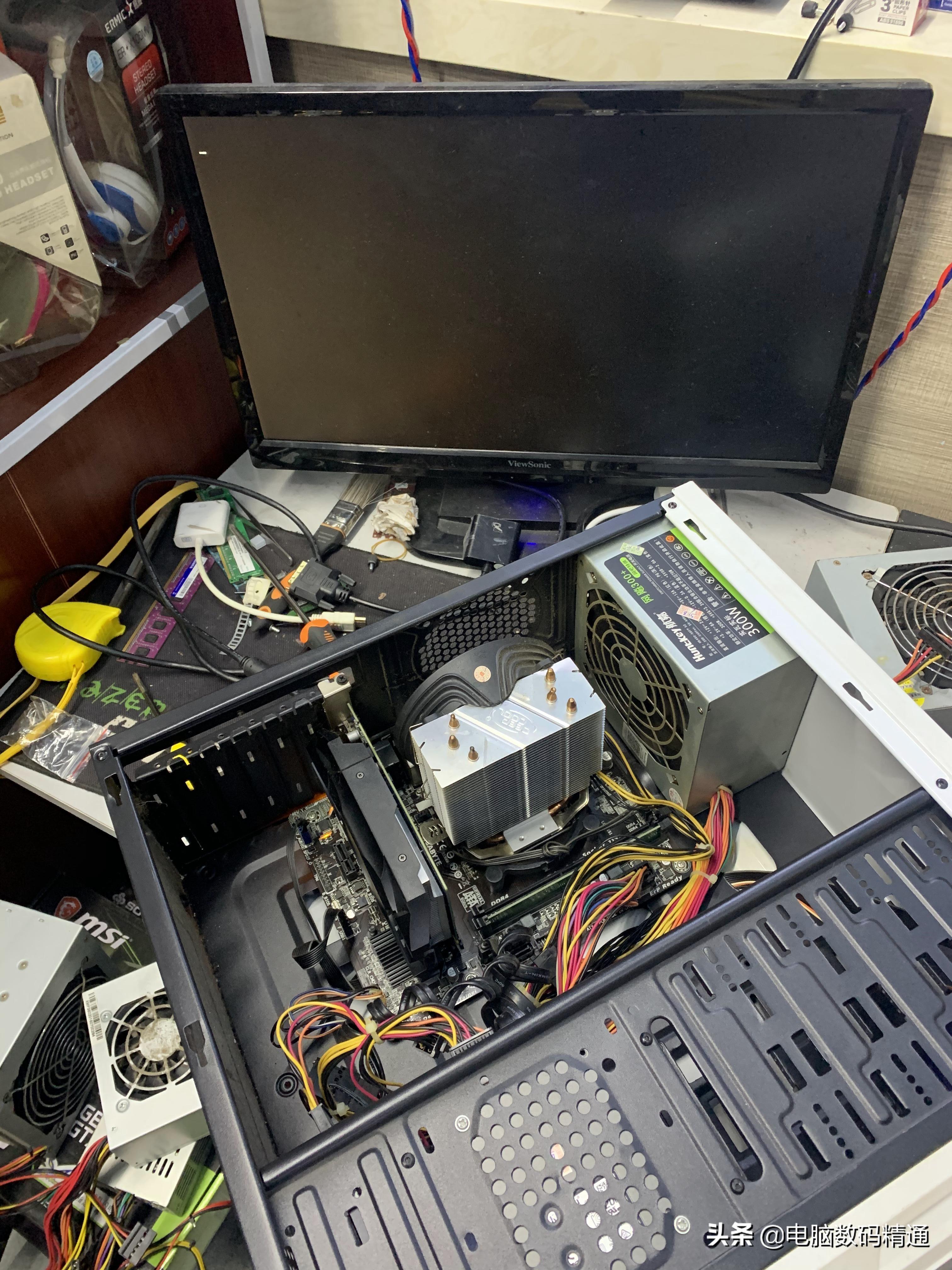 """修电脑遇到中途二次加价,这""""水""""就很深了,不谨慎可能会后悔"""