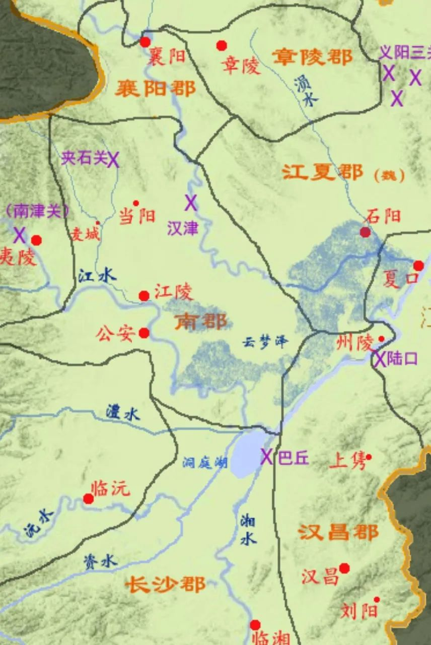 地缘详解刘备如何兵不血刃占据荆南四郡