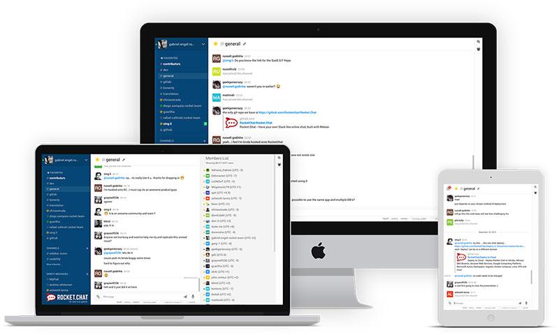 Rocket.Chat 3.7.1 发布,开源的团队沟通工具