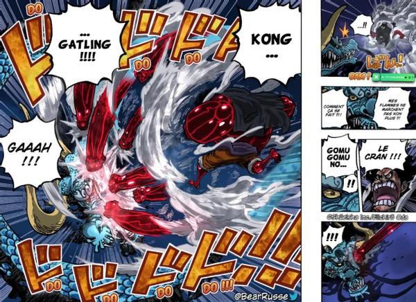海賊王1003:第一階段戰斗總結,索大MVP,特拉仔適合防守